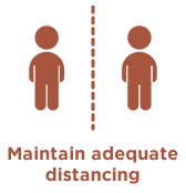 maintain distance