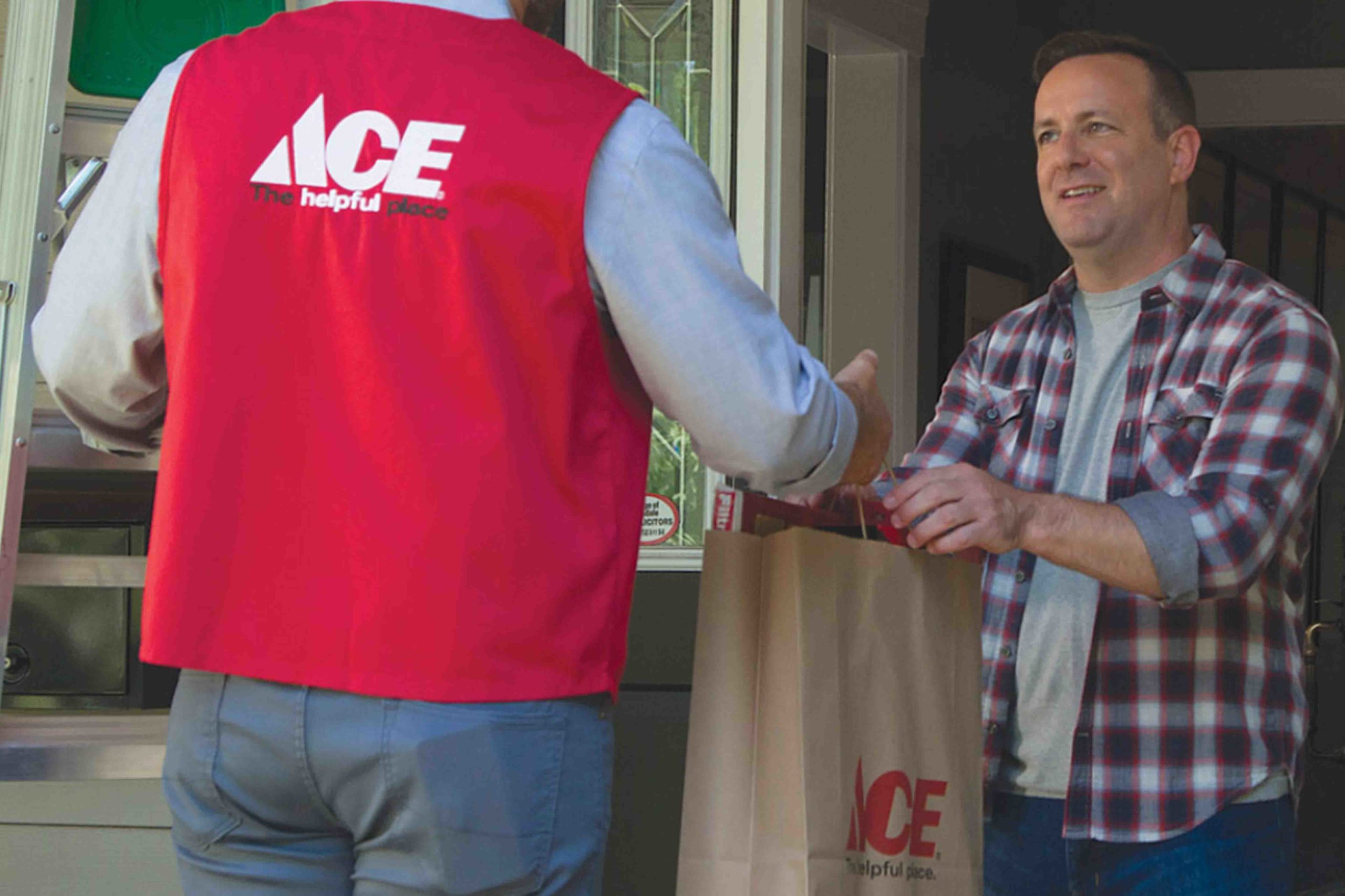 ace delivers to your home